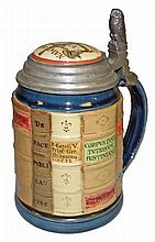 METTLACH LEGAL LIBRARY STEIN