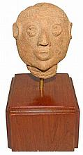 TERRACOTTA FIGURE FROM FUNERAL JAR