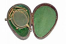 CASED PAIR OF FOLDING SPECTACLES