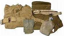 WWII ERA UNIFORM AND ACCESSORIES