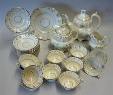 Caughley Porcelain Teaware Selection to include te