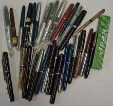 Selection of Fountain Pens to include Parker, Conw