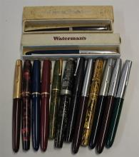Selection of Fountain Pens including mainly Parker