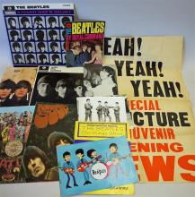 Good Selection of The Beatles Ephemera to include