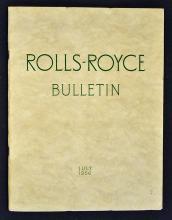 Automotive Rolls Royce Bulletin Publication 1956 a