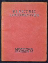 Electric Locomotives Publication Metropolitan Vick