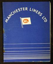 Maritime Manchester Liners Ltd c.1945-50 Booklet a