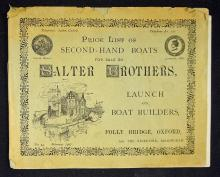 Maritime 1907 Slater Brothers Second Hand Boat Cat