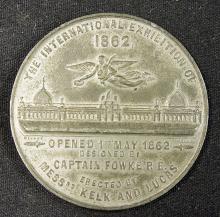 International Exhibition 1862 Commemorative Medall