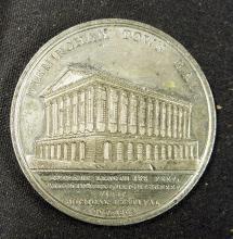 Birmingham Music Festival 1834 Medallion a commemo