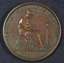 London Institution Bronze Membership Ticket c.1820