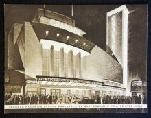 Entertainment Woolwich Grand Cinema Souvenir Publi