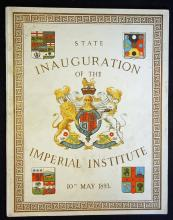 1893 State of Inauguration of the Imperial Institu