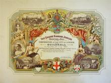 1897  The Queen?s Diamond Jubilee Invitation to th
