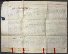 1812 London Indenture William Worrall?s Free Schoo