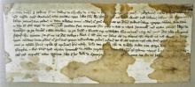 Norfolk 14th Century Vellum Indenture dated 1385 c