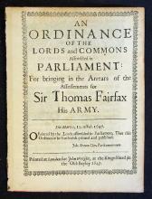 Political 17th Century Parliamentary Document An O