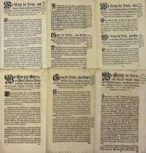Fine Selection of George III Various Edicts with c