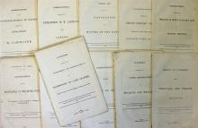 Acts of Parliament Documents 19th Century dated be