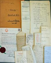 Guernsey ?Vale Castle Land? 19th Century Deeds and