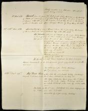 Bedfordshire Samuel Whitbread 1742 Indenture Docum