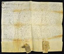 Lincolnshire Commonwealth Deed 1658 headed ?To All