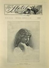 The Sketch 1895 dated 13 Feb with contents includi