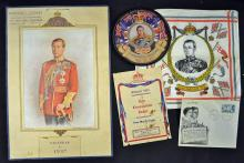 Royalty King Edward VIII Collection to include a L