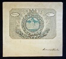 Royal 1821 Invitation To The Coronation of King Ge