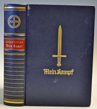 Adolf Hitler 50th Birthday Edition of Mein Kampf B
