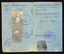 Passport of a Jewish Merchant in occupied Lithuani