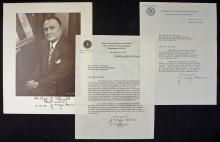 John Edgar Hoover 1950s Signed Collection of corre