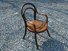 Child's Bentwood Armchair. Fischel^ Czechoslovakia