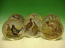Six Collector?s Plates. Game Birds of the World by