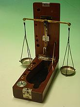 A set of Jeweller?s Scales. Seederer- Kohlbusch^ J