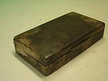 Silver Cigarette Box Chester 1937. 6? wide
