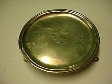 A Silver Waiter 5 ¼? diam. London 1723. 3ozs 14dwt