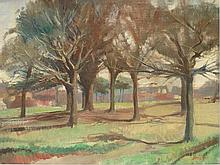 Ralph Bruce. April Morning. Signed^ inscribed vers