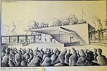 Artists Impressions c1940s Bandstand and Open Air