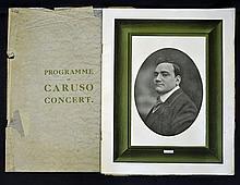 1909 Souvenir Programme of Caruso Concert at The A