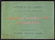 1931 Kitson & Co. Limited Manning Wardle Type Loco