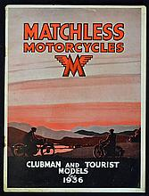 Matchless Motor Cycles 1936 Sale Catalogue 44-45 P