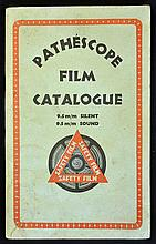 1941 Pathescope Film Booklet consisting of a 55 pa