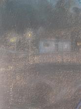 George Vernon Stokes 1873-1954. A nocturne. Arunde
