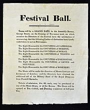 Grand Ball Poster at the Assembly Rooms George Str