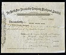 1895 The North Pier Steamship Company^ Blackpool L