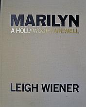 Rare Signed 'Marilyn A Hollywood Farewell' Book by