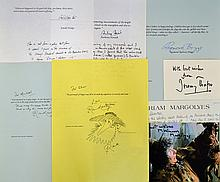 Mixed selection of Autographs consisting of Norman
