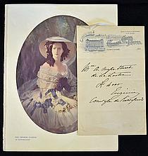 Signed Empress Eugénie Queen of France Handwritten