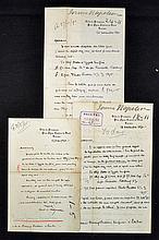 Selection of Signed Victor Prince Napoleon 4th Pri